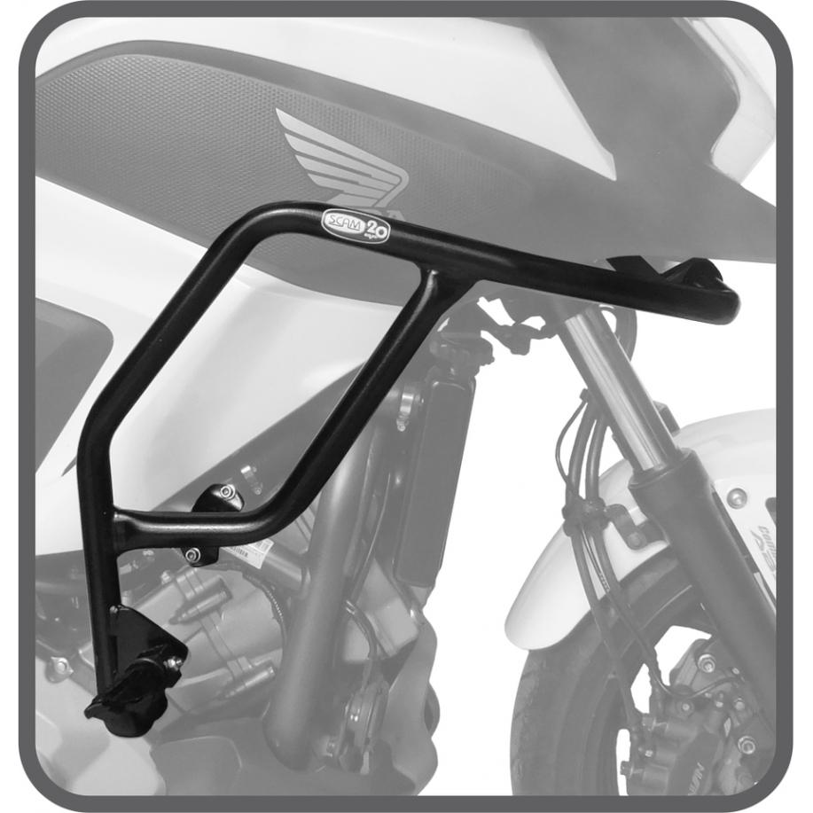 Protetor motor/carenagem c/ pedal NC700X / NC750X