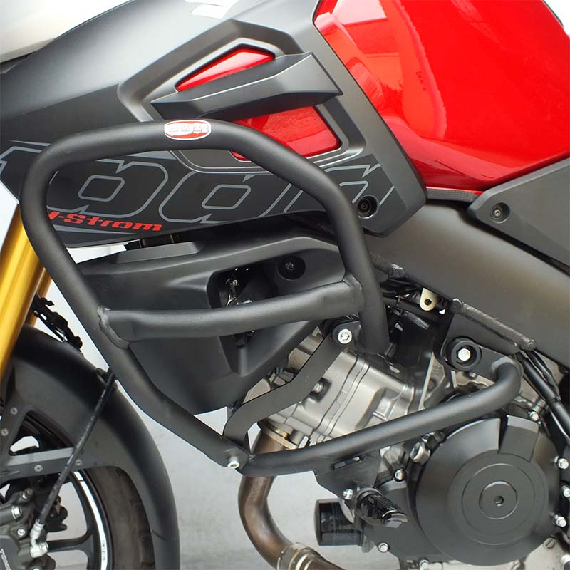 Protetor motor carenagem pedal Vstrom 1000cc 2014+