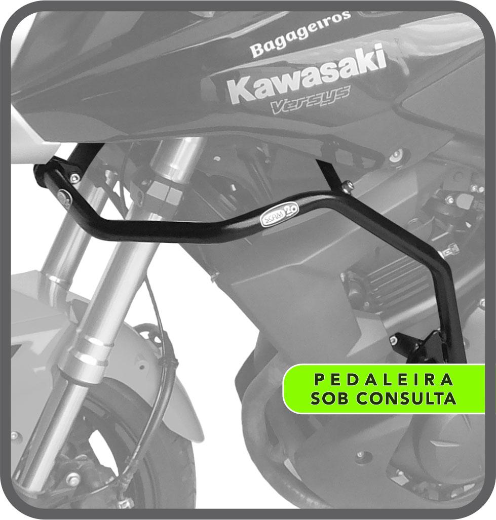Protetor Motor/Carenagem Versys 650 até 2015 Scam