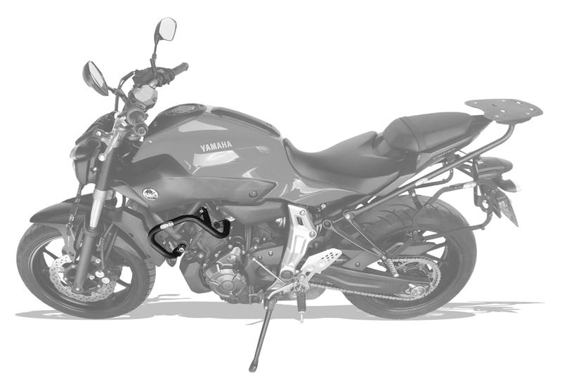 Protetor Motor e Carenagem MT07 - Scam