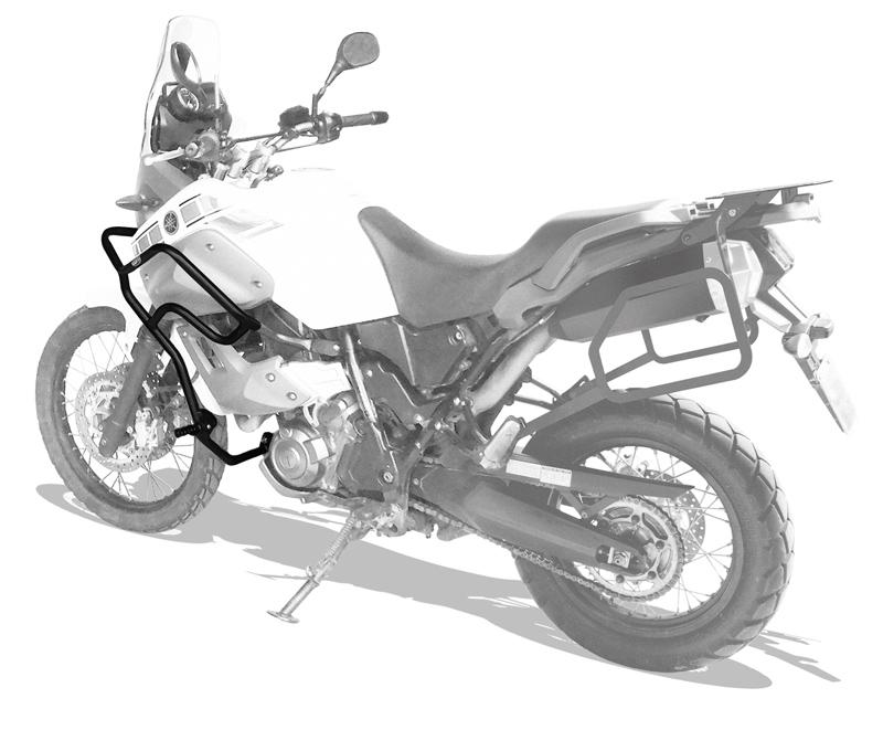Protetor motor e carenagem Ténéré 660 c/ pedaleira