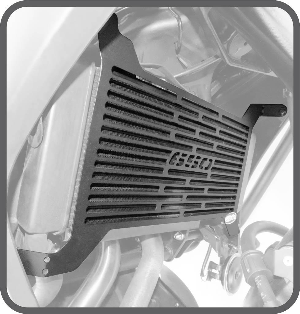 Protetor Radiador Scam Kawasaki Versys 650 2015+