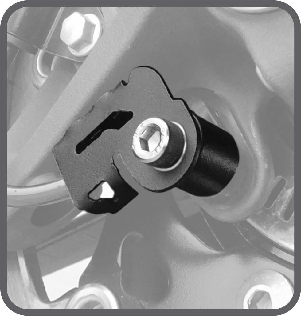 Protetor Sensor ABS Vstrom 1000 2014 em diante