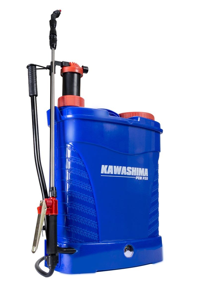 Pulverizador Costal Elétrico/Manual Kawashima