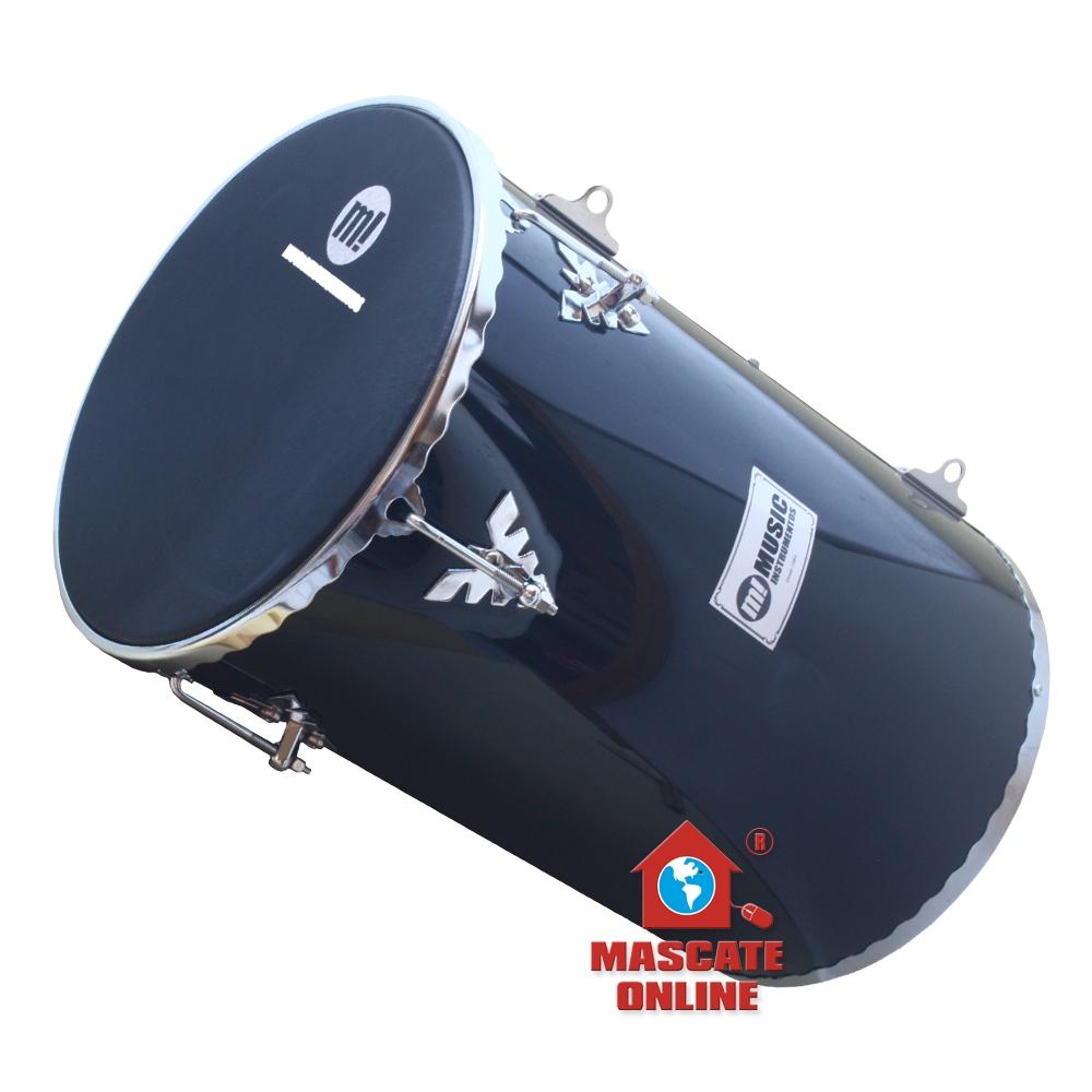"Rebolo 12"" 50cm Preto Madeira Music 502R BK"