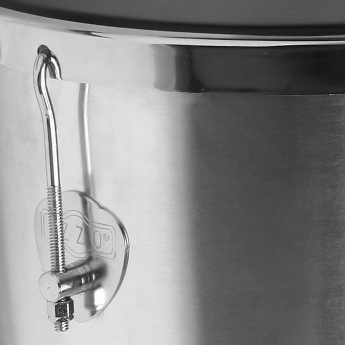 Rebolo Cônico 12pol x 50cm Izzo 7092 Alumínio com Pele Napa