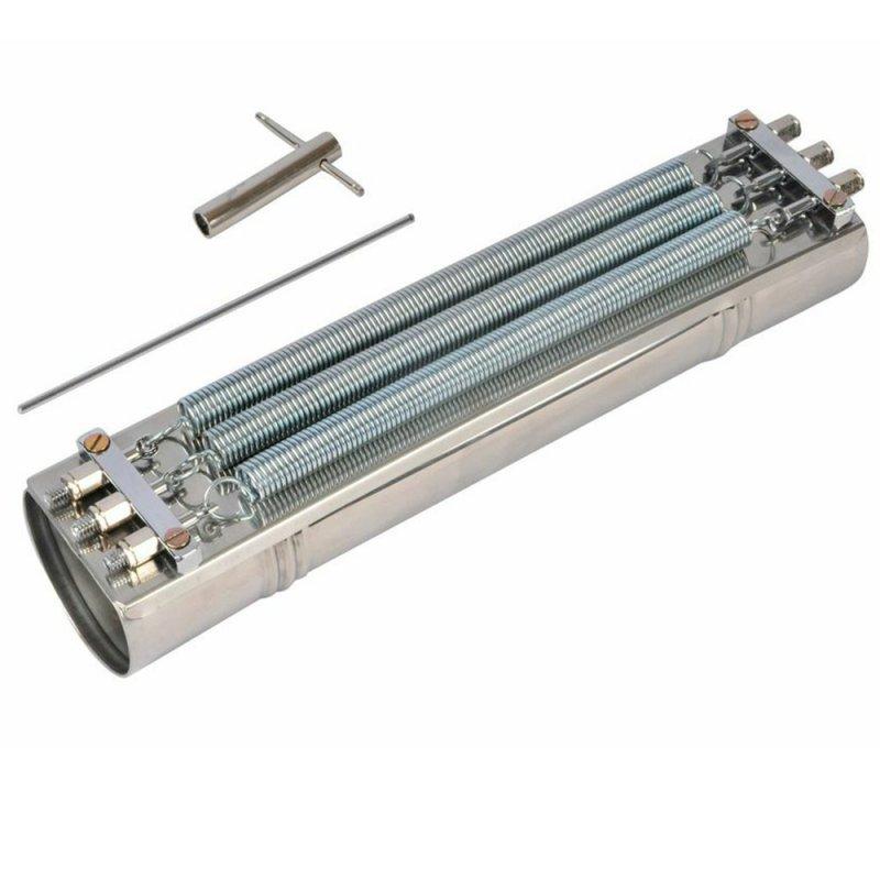 Reco Reco 3 molas profissional aço Contemporânea 91C