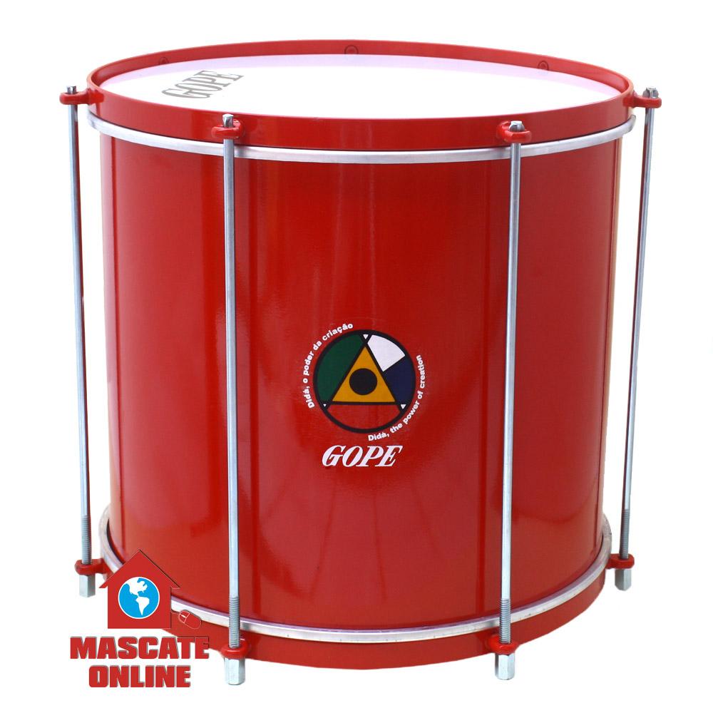 """Repinique 12"""" Alumínio Vermelho Gope Dida VVBAL3012R"""