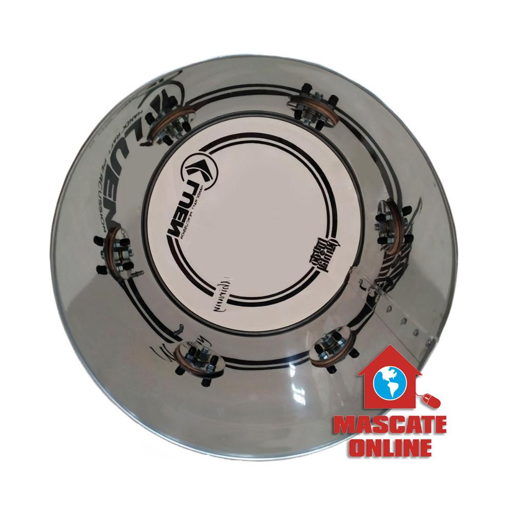 Repique Mão Ubirany Fundo de Quintal 11 pol Aço Inox Luen