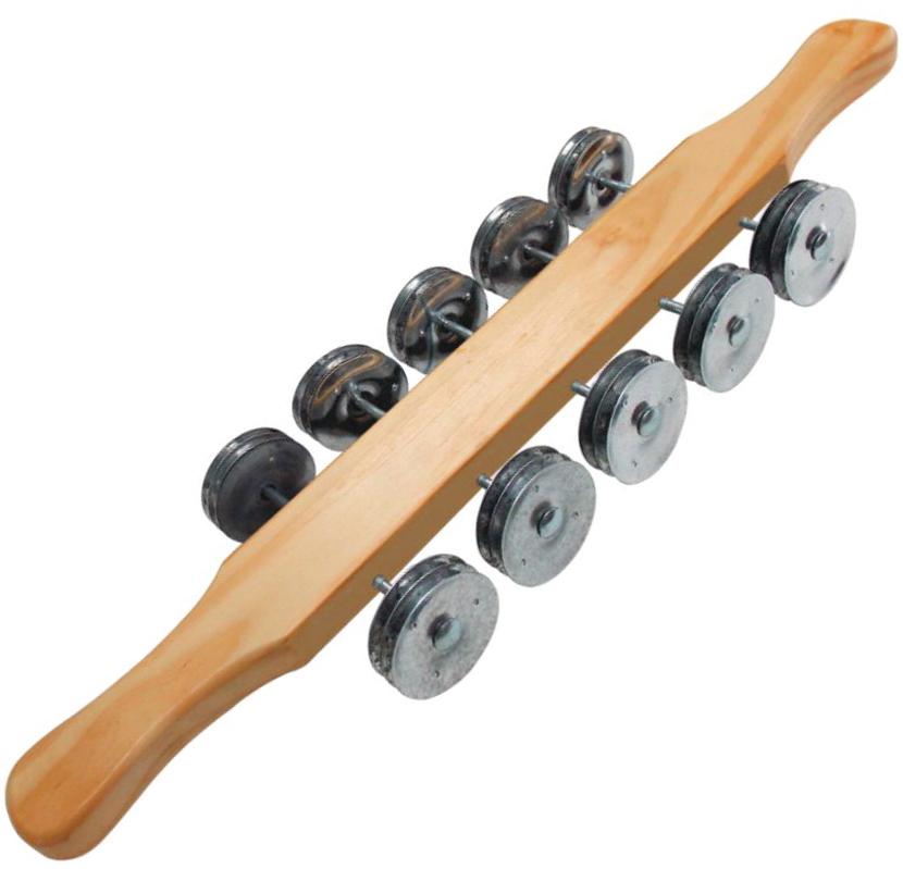 Rocar em madeira 50 platinelas Torelli Ritmus RR 010
