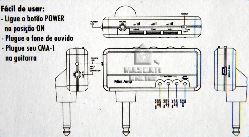 Simulador De Amplificador (Tagima TMA1)