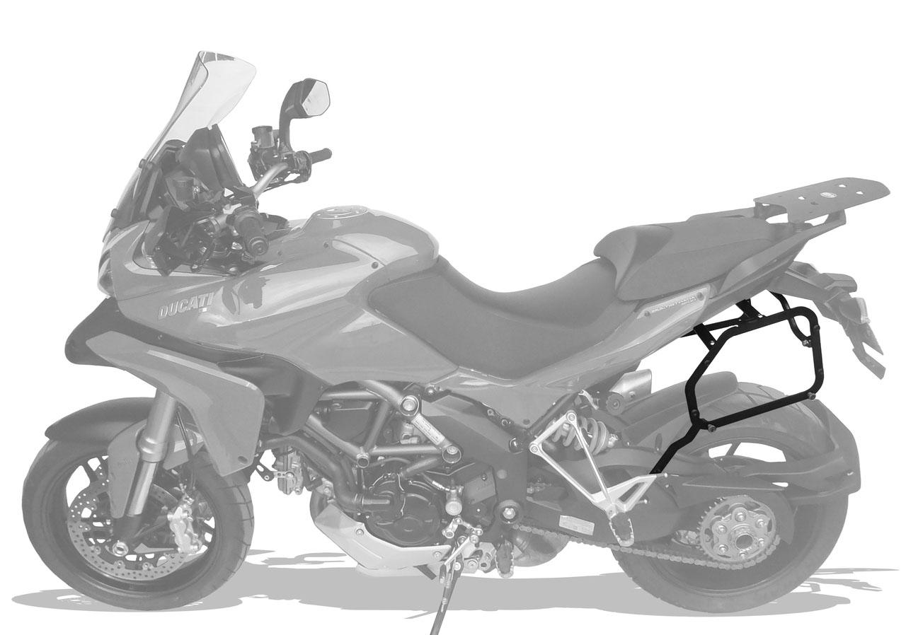 Suporte Baú Lateral Ducati Multistrada 1200 até 2015 - Scam