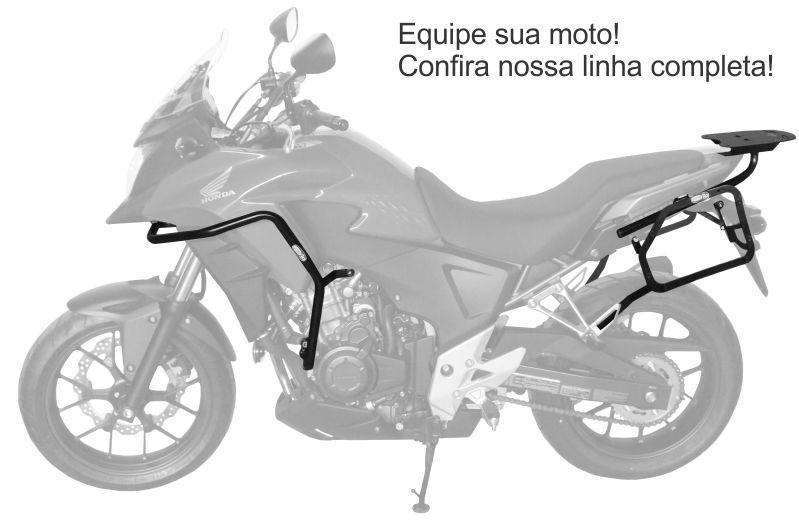 Suporte Baú Lateral Honda CB500X - Scam