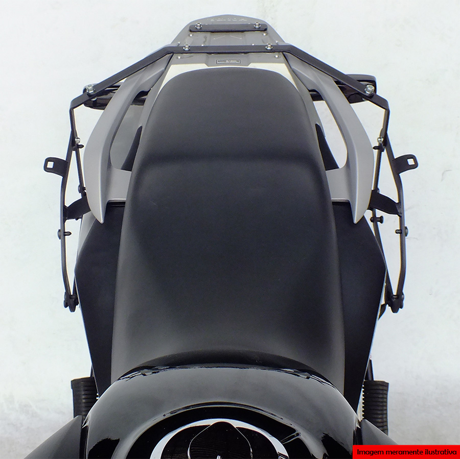 Suporte Baú Lateral Honda NX 400i Falcon