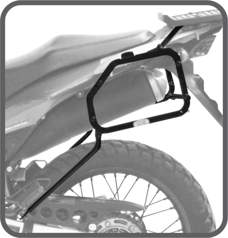 Suporte Bau Lateral Honda XRE 300 - Scam