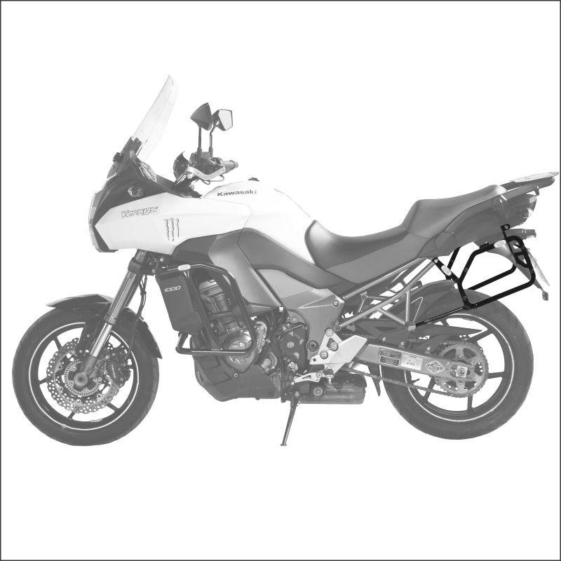 Suporte Baú Lateral Kawasaki Versys 1000 até 2014