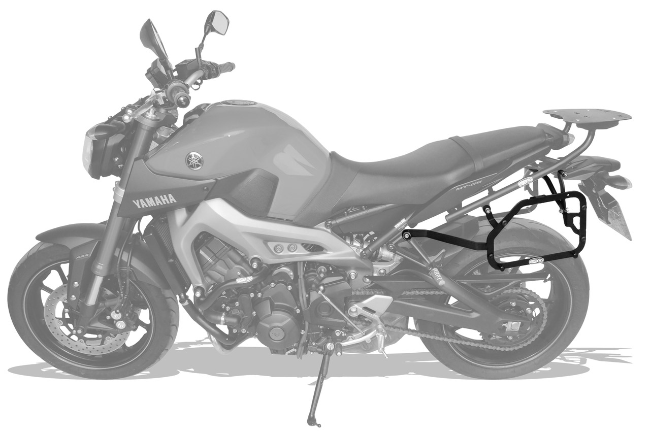 Suporte bau lateral Yamaha MT09 - Scam
