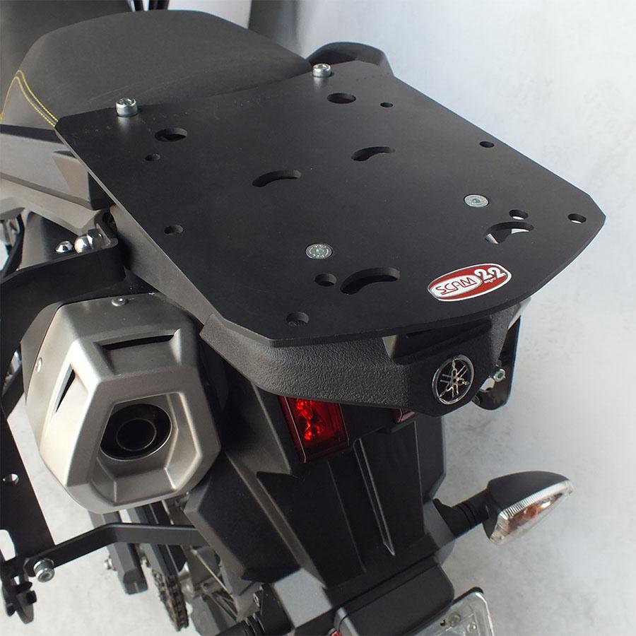 Suporte Baú Traseiro Yamaha XT 660 Z Preto Scam SPTO 223