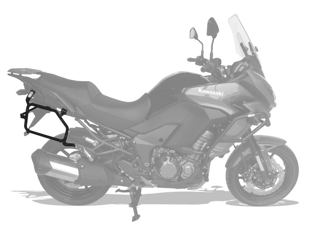 Suporte lateral Kawasaki Versys 1000 2015+ Scam