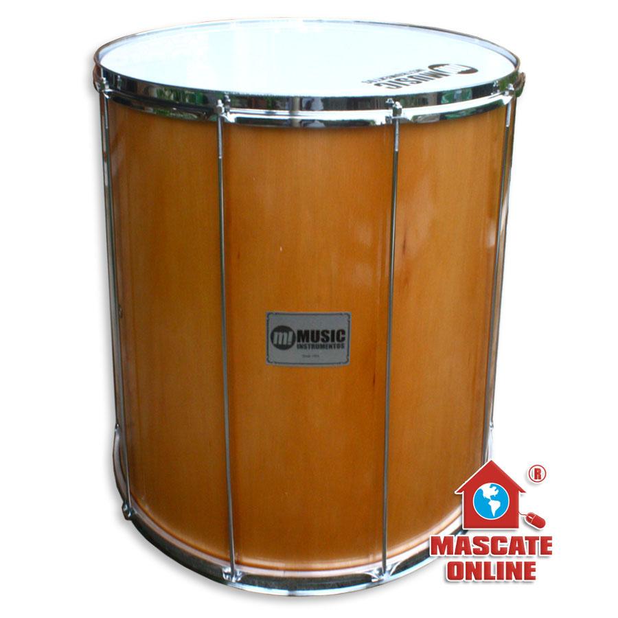 """Surdo Madeira 16""""x50cm Music 410"""