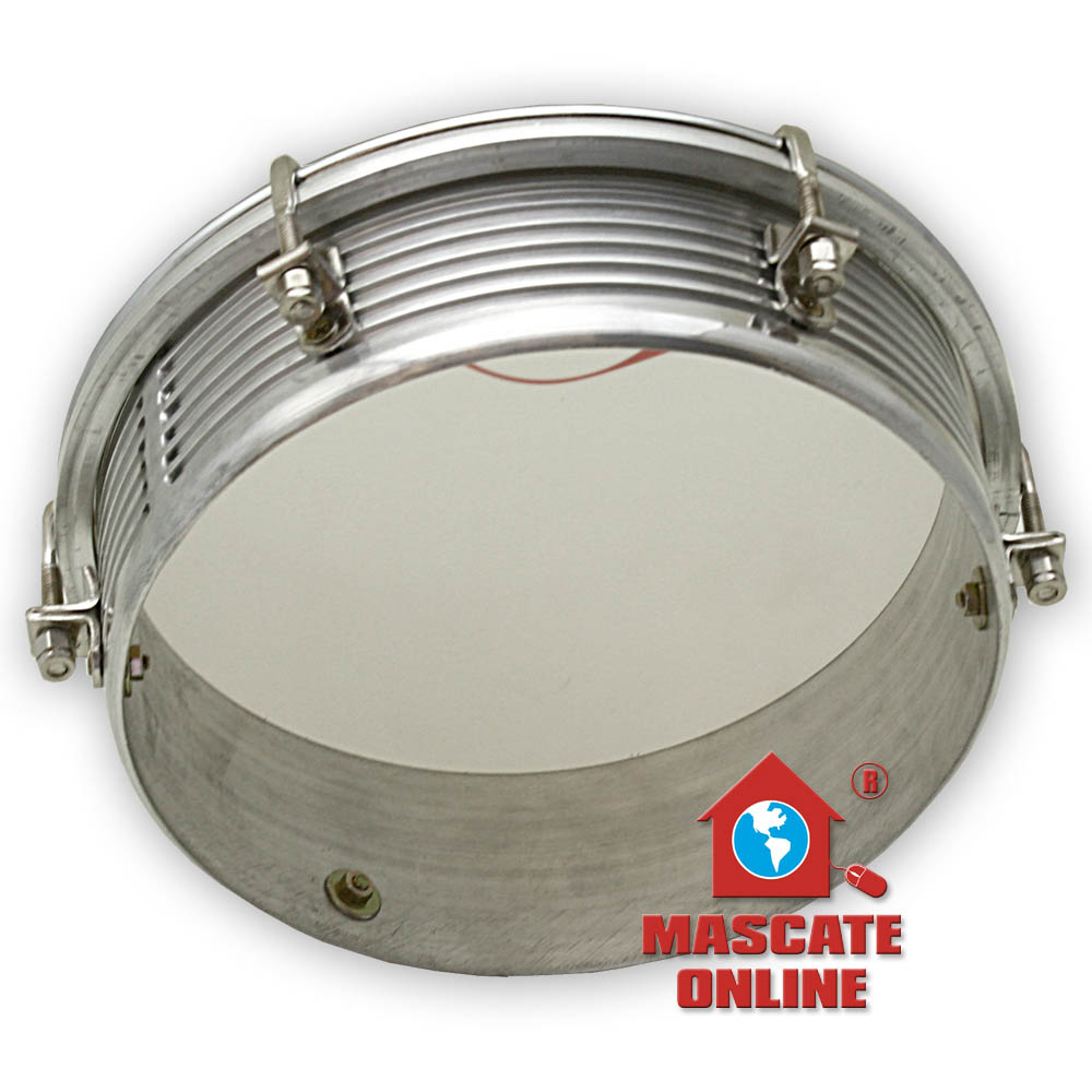 Tamborim profissional alumínio frisado Contemporânea 429C