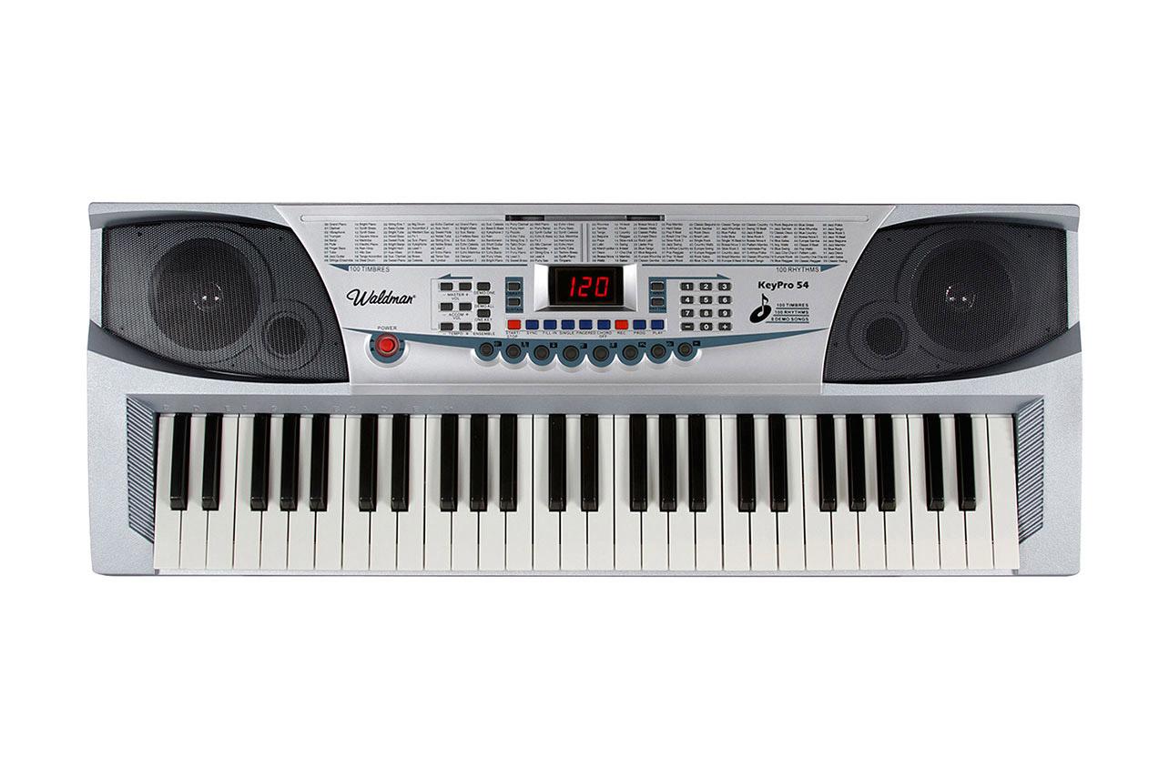 Teclado  54 Teclas c/ Microfone Waldman KEP-54