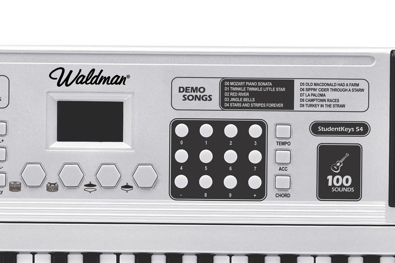 Teclado StudentKeys 54 teclas Waldman STK-54