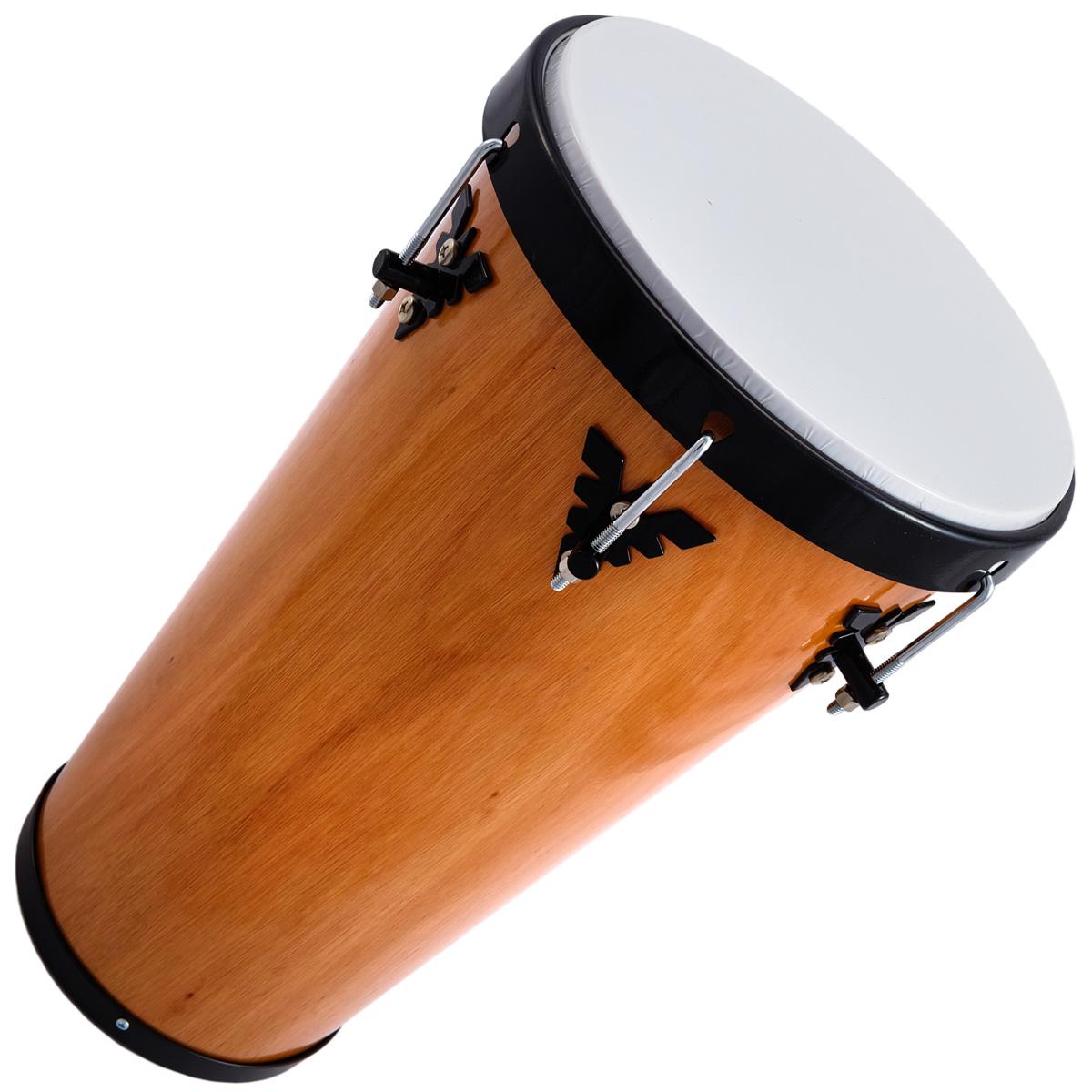 "Timba 11""x50cm Madeira  Verniz  - Samba Music 953MA"