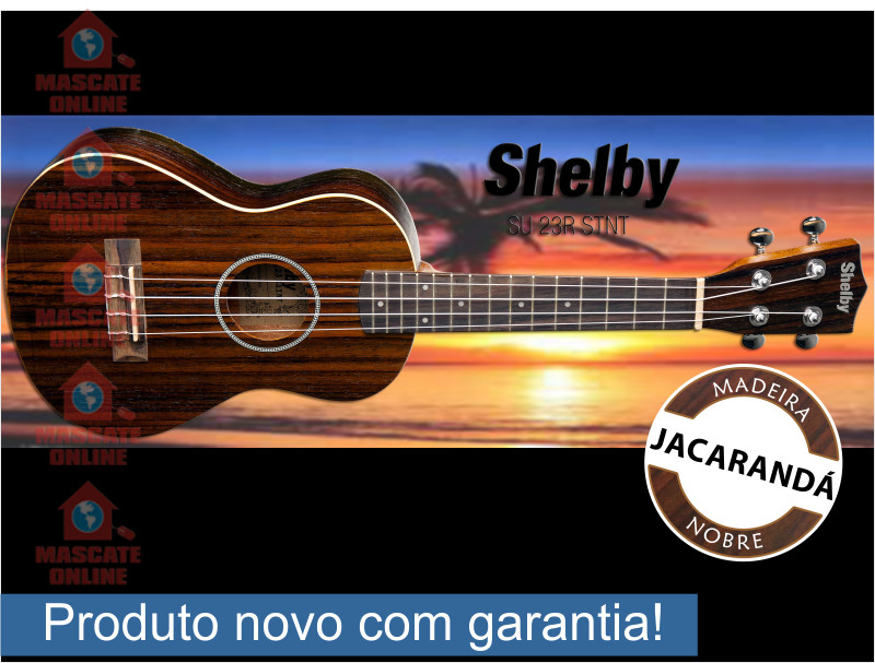 Ukulele Concerto Shelby SU23R