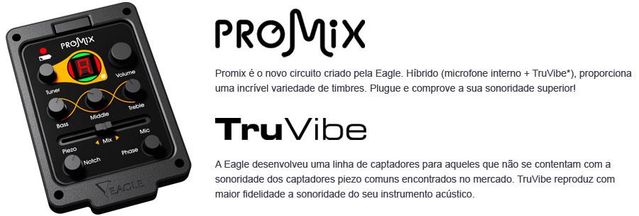 Violão Clássico Nylon - Eagle DH69T Cor Natural