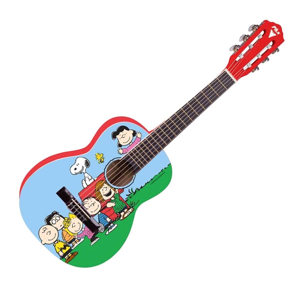 Violão Infantil Snoopy Amigos PHX VIS-A1