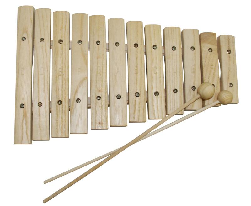 Xilofone Infantil madeira 12 notas Dolphin 8472