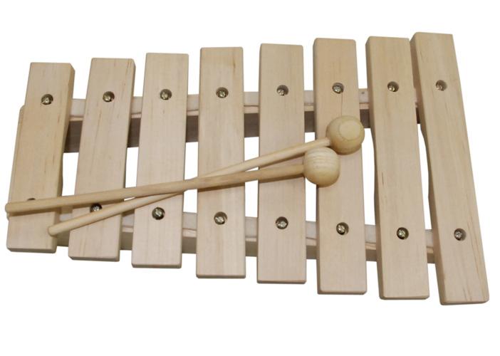 Xilofone Infantil madeira 8 notas Dolphin 8473