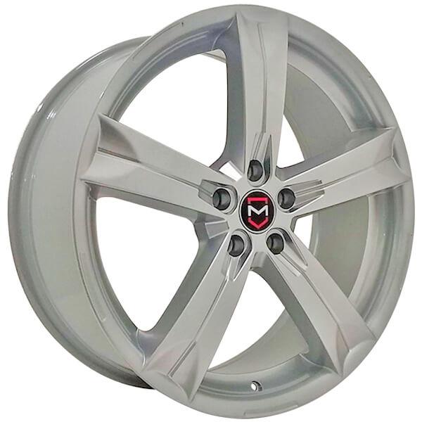 Jogo Rodas GM Monacco Cruze Europeu MW120 Aro 20 5x113 Hiper Prata
