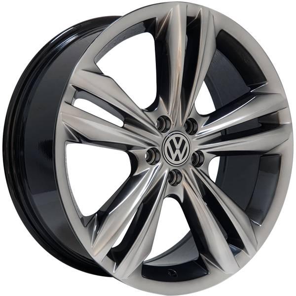 Jogo Rodas Monacco Giardini VW Tiguan R-Line Aro 18 5x112 Dark Gloss