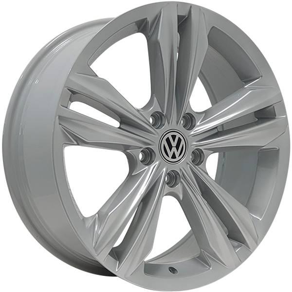 Jogo Rodas Monacco Giardini VW Tiguan R-Line Aro 18 5x112 Hiper Prata