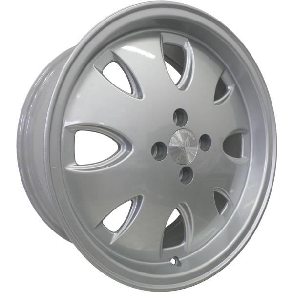 Jogo Rodas Vollk Wheels Opala VLK-310 Aro 17 4x100 Prata