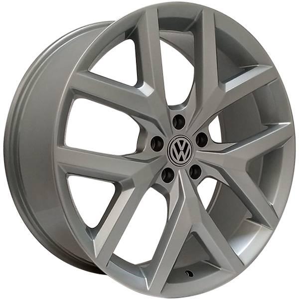 Jogo Rodas VW Amarok Monacco MW070 / Aro 20 (Tala 8,5) 5x120 Prata