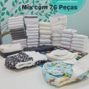Kit Mix de Produtos 76 Peças