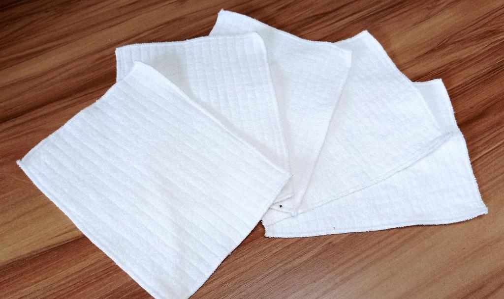 KIt 5 lenços de limpeza