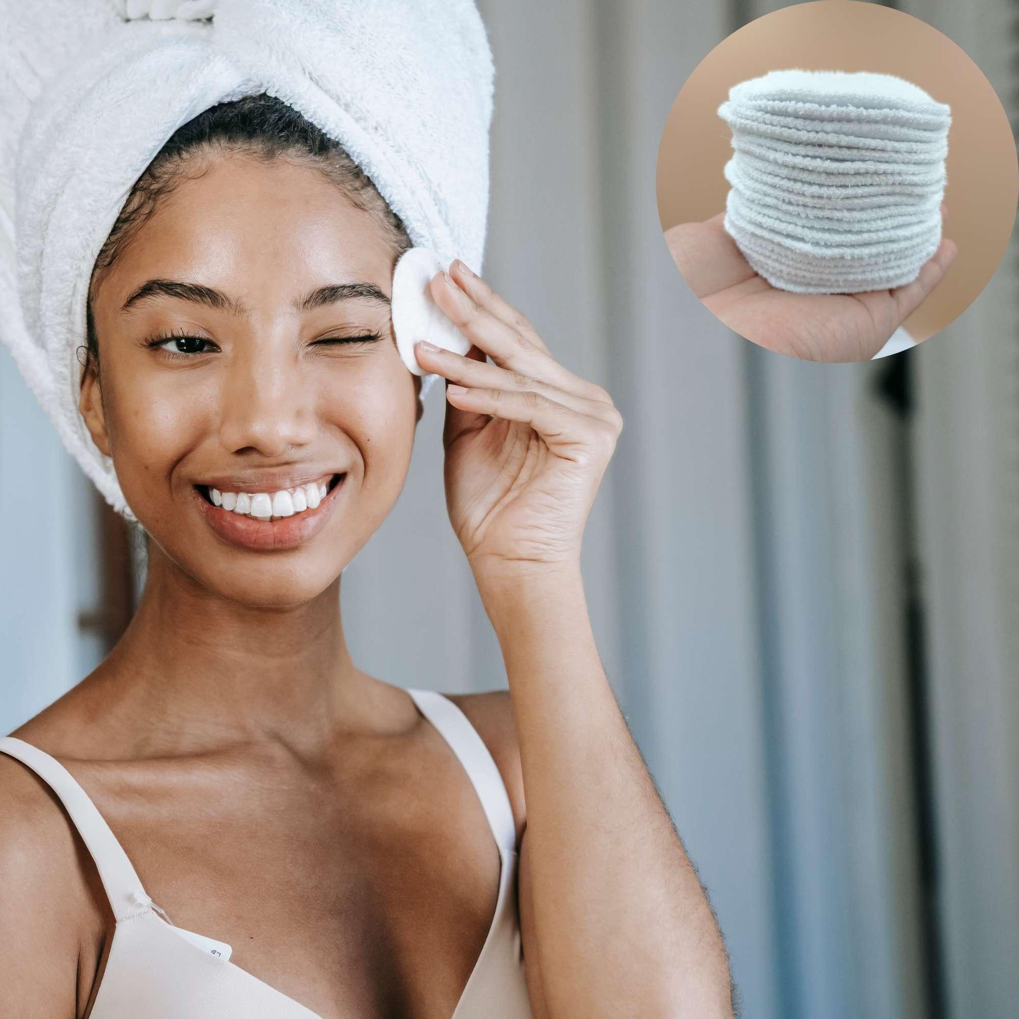 Ecopad  / discos de limpeza facial com necessaire