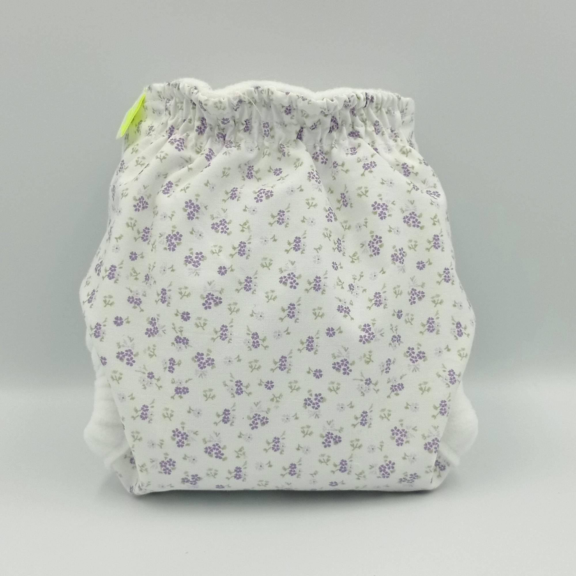 Fralda Recém-nascido Floral Lilás