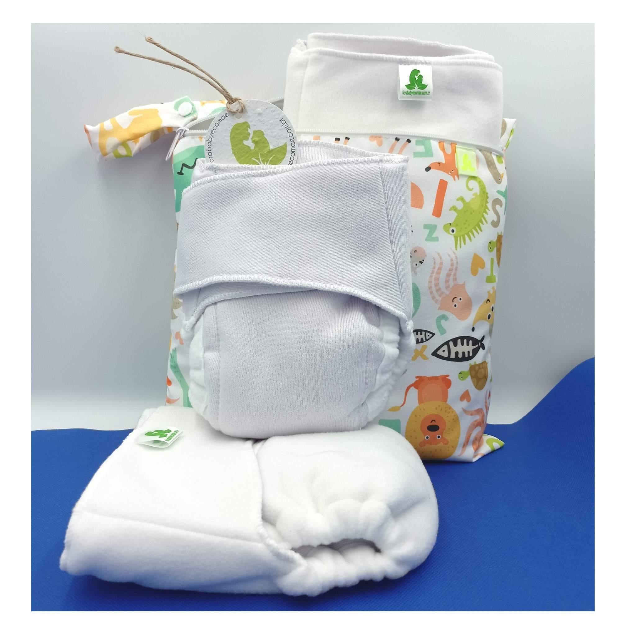 kit 3 Contornos e 1 Uma sacola Impermeável 30x30