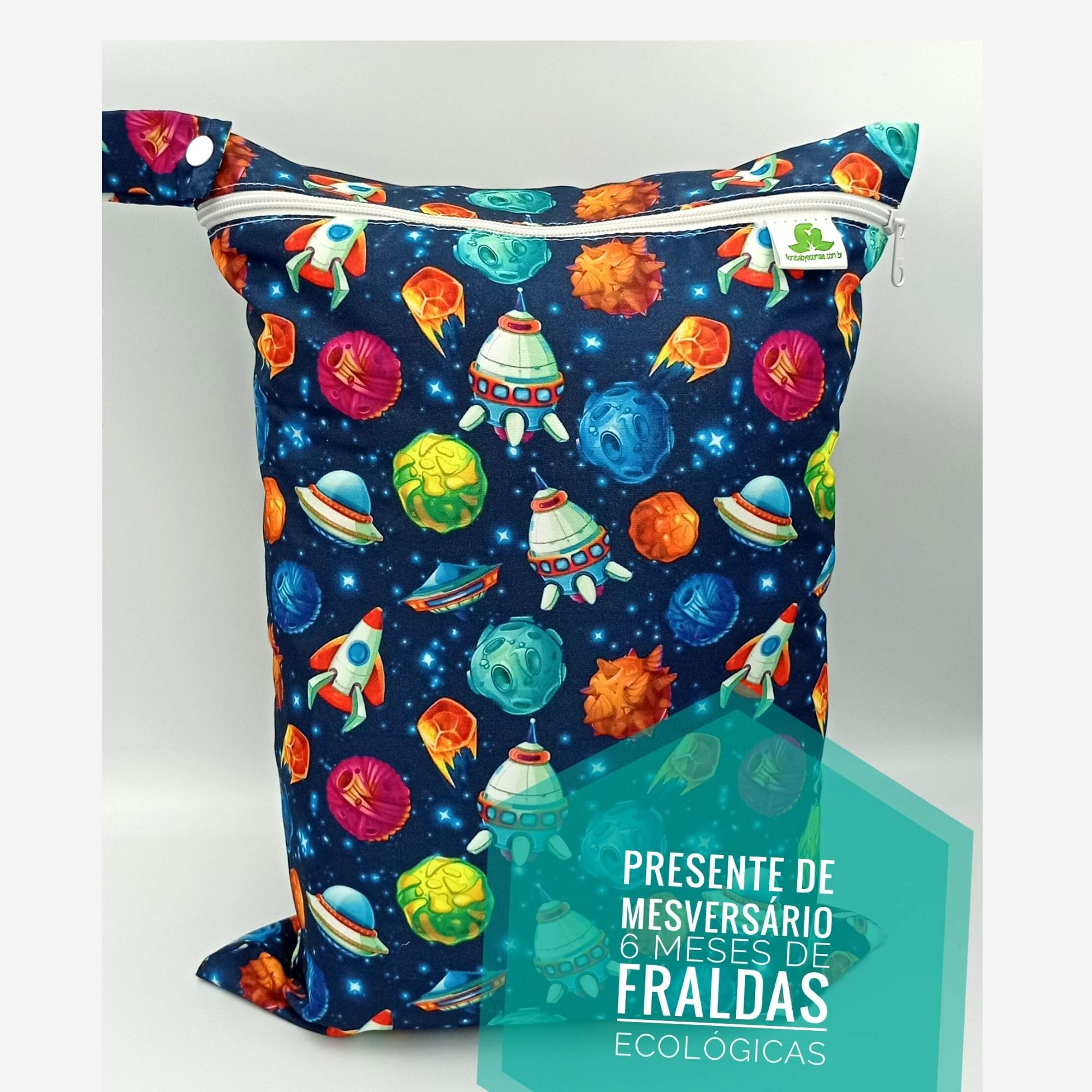 Kit 6 meses de Fralda Ecológica