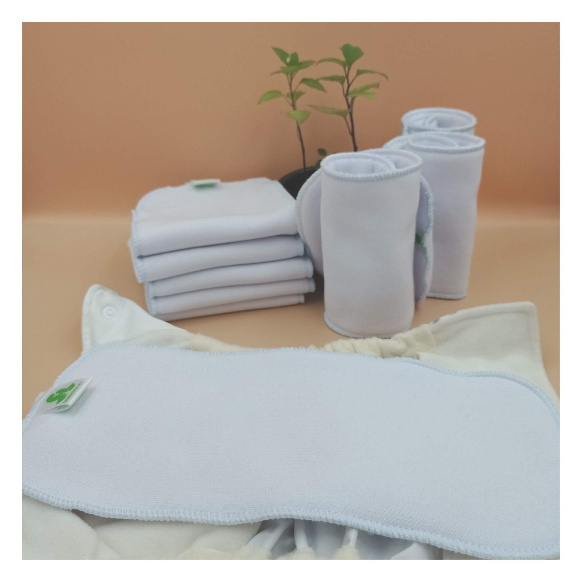 Absorvente para Fralda Ecológica Reforço 2 camadas em Moletom