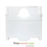 Capa Traseira do Evaporador para Geladeira Brastemp & Consul - W10201179