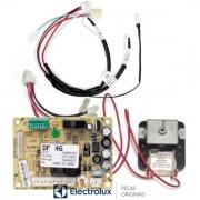 Kit Placa Sensor Motor Ventilador Refrigerador Electrolux 220V Original  - 70001454