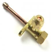 Válvula de Serviço 1/4 Condensadora Ar Condicionado Split R22 R410 - EOS