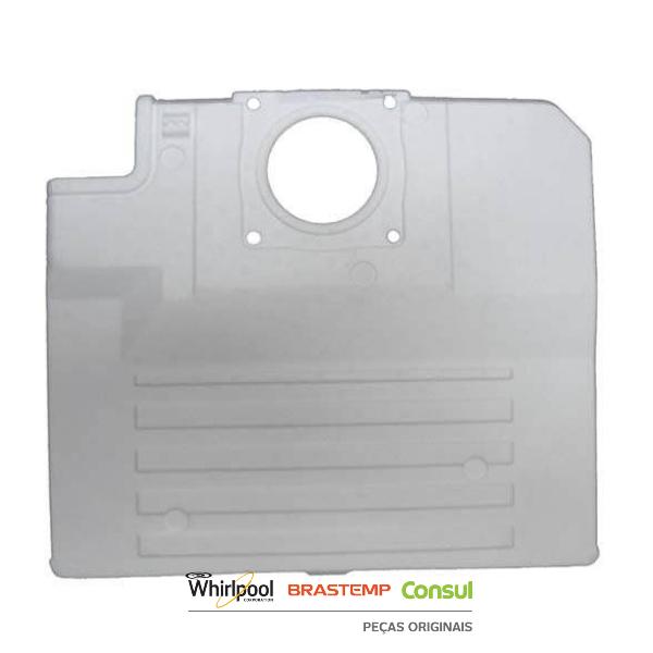 Capa Traseira do Evaporador para Geladeira  Brastemp - W10292562