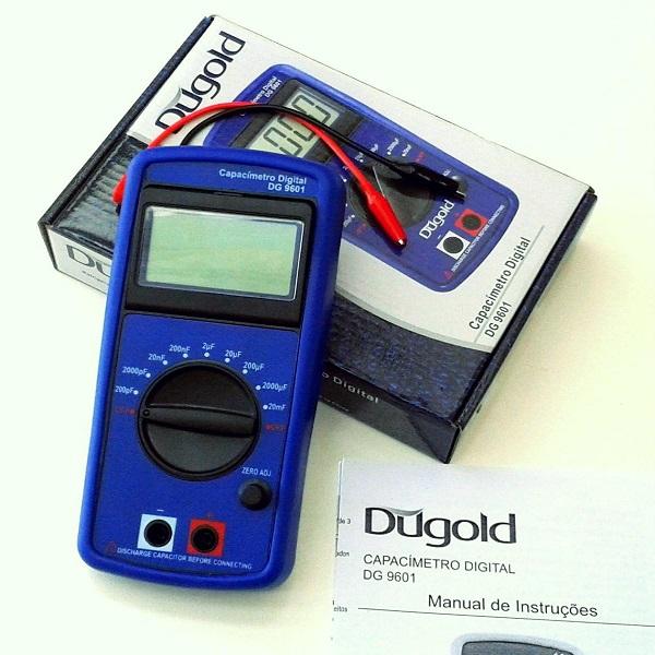 Capacímetro Digital Profissional Dugold Dg9601